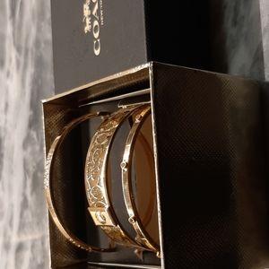 Coach Bangle Bracelet Set